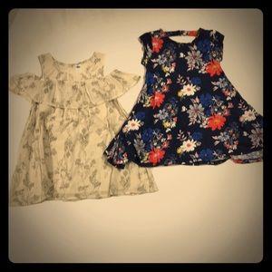 2 old navy dresses